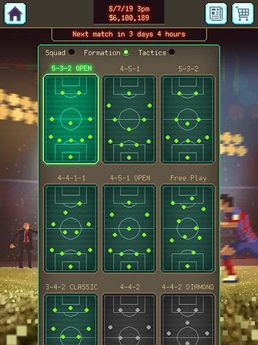 Football boss: Soccer manager screenshot 3