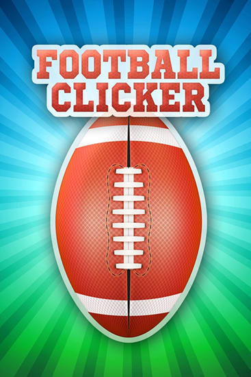 Football clicker poster