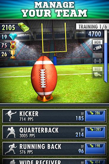 Football clicker screenshot 2