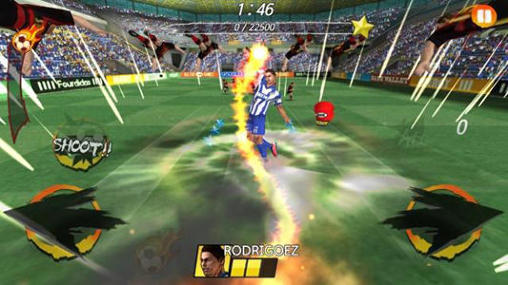 Screenshots von Football king rush für Android-Tablet, Smartphone.