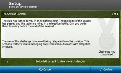 Screenshots von Football Manager Handheld 2012 für Android-Tablet, Smartphone.