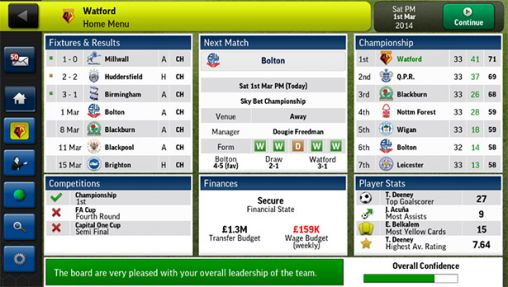 Football Manager Handheld 2014 screenshot 1