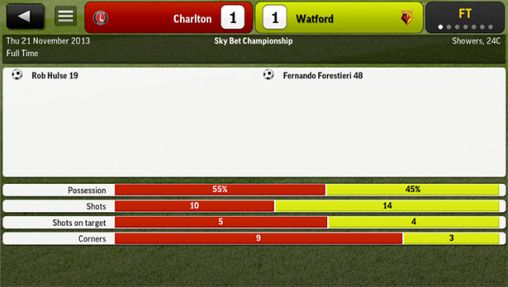 Football Manager Handheld 2014 screenshot 2