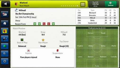 Football Manager Handheld 2014 pour Android à télécharger ...