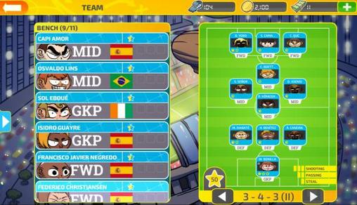 Football maniacs: Manager screenshot 3