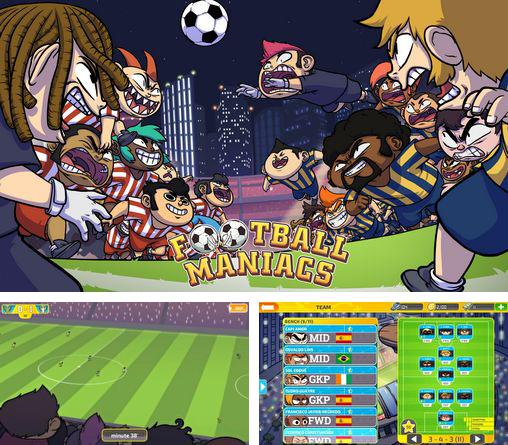 In addition to the game Metegol for Android phones and tablets, you can also download Football maniacs: Manager for free.