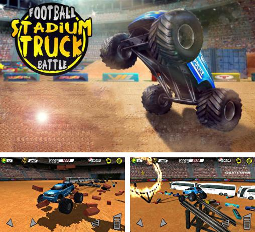 Football stadium truck battle