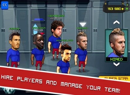 Football touch Z screenshot 1