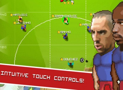 Football touch Z screenshot 2