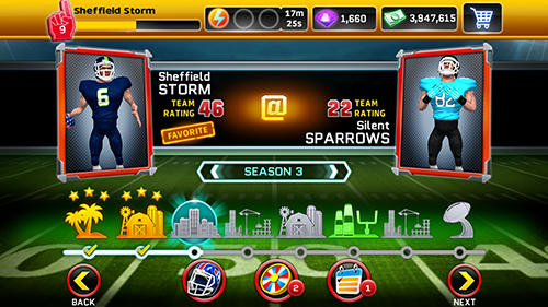 Kostenloses Android-Game Football Unleashed 19. Vollversion der Android-apk-App Hirschjäger: Die Football unleashed 19 für Tablets und Telefone.