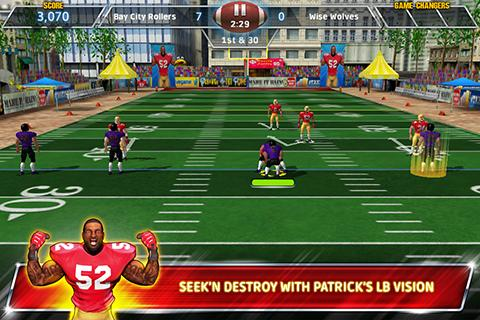 Screenshots of the Football unleashed with Patrick Willis for Android tablet, phone.