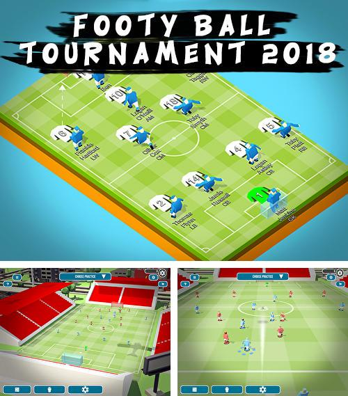 Footy ball tournament 2018
