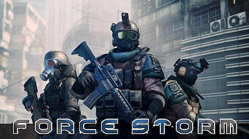 Force storm: FPS shooting party poster