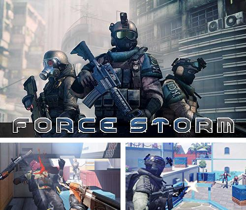 Force storm: FPS shooting party