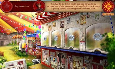 Screenshots of the Forgotten Places Lost Circus for Android tablet, phone.