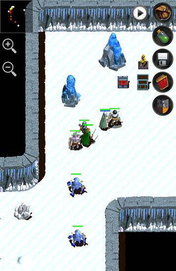 Screenshots von Forgotten tales RPG für Android-Tablet, Smartphone.