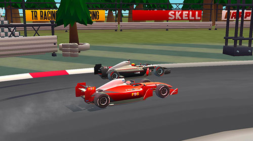 Screenshots of the Formula 1 Racing championship for Android tablet, phone.