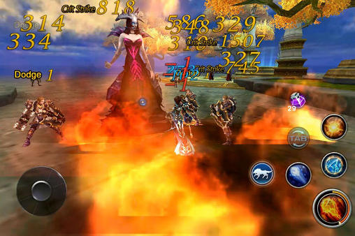 Screenshots do Forsaken world mobile MMORPG - Perigoso para tablet e celular Android.