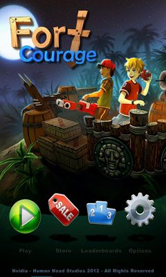 Fort Courage poster