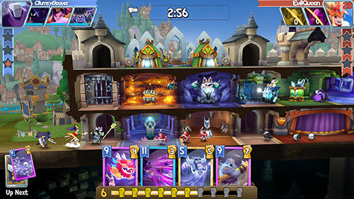 Screenshots von Fortress of champions für Android-Tablet, Smartphone.