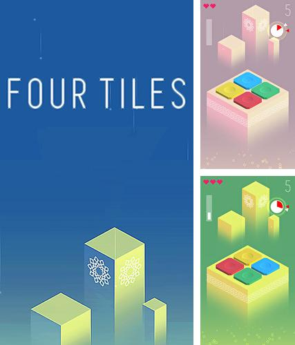 Four tiles: Focus and memory game
