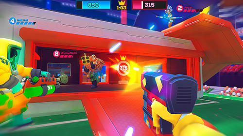 Screenshots do Frag pro shooter - Perigoso para tablet e celular Android.