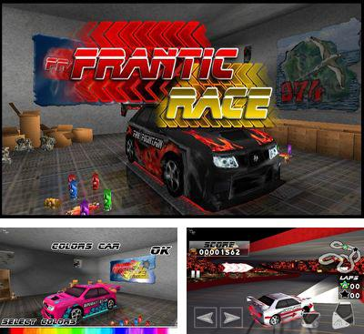 In addition to the game Furious Wheel for Android phones and tablets, you can also download Frantic Race for free.