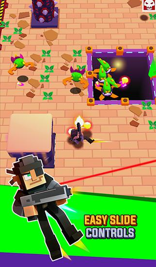 Jogue Frantic shooter para Android. Jogo Frantic shooter para download gratuito.