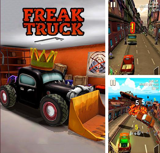Freak truck: Crazy car racing