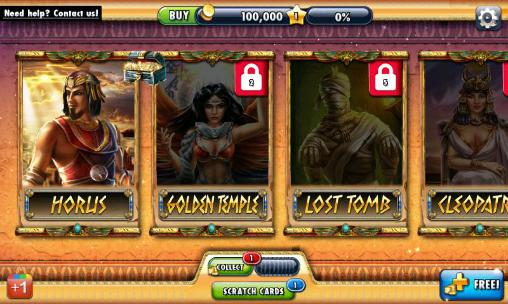 Screenshots von Free 100 spins: Casino für Android-Tablet, Smartphone.