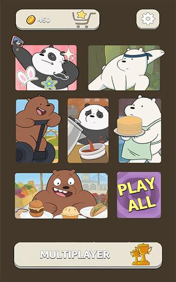 Screenshots von Free fur all: We bare bears für Android-Tablet, Smartphone.