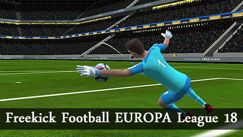 Freekick football Europa league 18