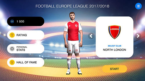 Jouer à Freekick football Europa league 18 pour Android. Téléchargement gratuit de Football des coups francs: Europe league 18.