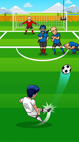 Screenshots von Freekick maniac: Penalty shootout soccer game 2018 für Android-Tablet, Smartphone.