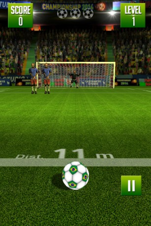 Freekick: World football championship картинка из игры 3