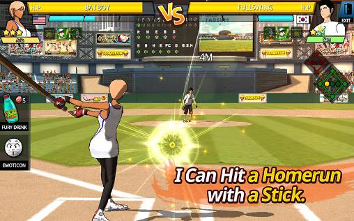 Screenshots do Freestyle baseball 2 - Perigoso para tablet e celular Android.