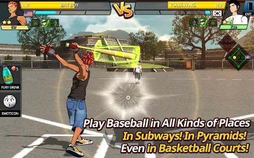 Геймплей Freestyle baseball 2 для Android телефону.