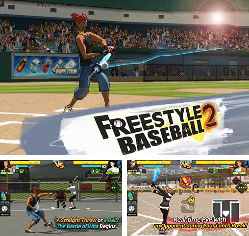 In addition to the game Homerun Battle 3d for Android phones and tablets, you can also download Freestyle baseball 2 for free.