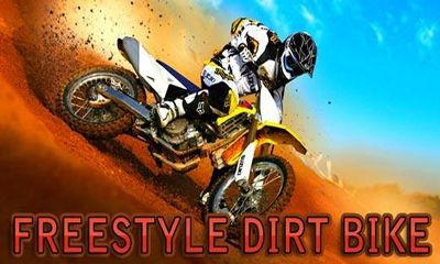 Freestyle Dirt bike poster