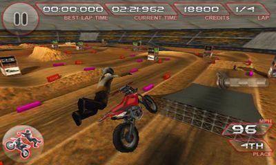Screenshots von Freestyle Dirt bike für Android-Tablet, Smartphone.