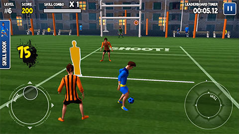 Screenshots von Freestyle football 3D für Android-Tablet, Smartphone.