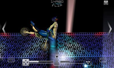 Screenshots of the Freestyle Motocross IV for Android tablet, phone.