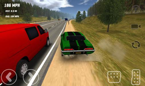 Screenshots von Freeway traffic rush für Android-Tablet, Smartphone.