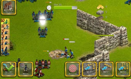 Screenshots von French British wars für Android-Tablet, Smartphone.