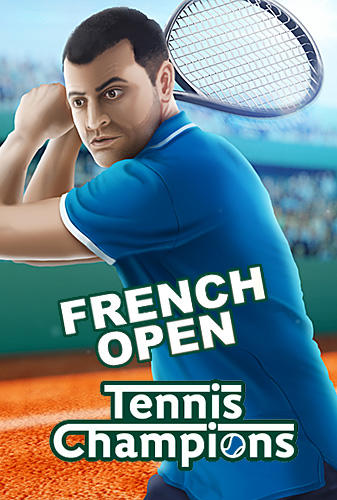 French open: Tennis games 3D. Championships 2018 poster