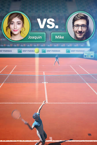 French open: Tennis games 3D. Championships 2018 картинка из игры 3