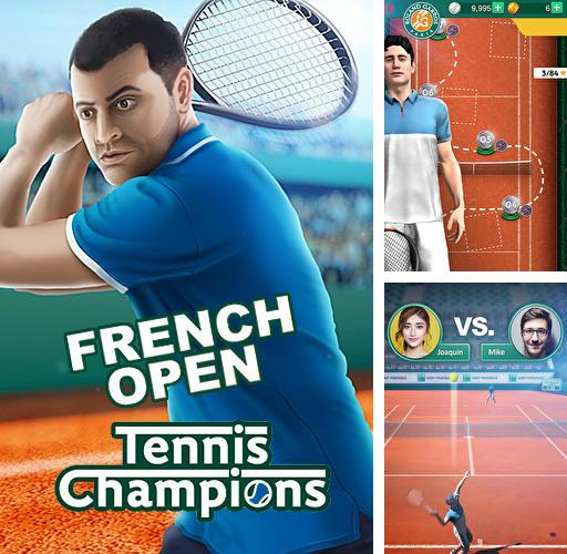 French open: Tennis games 3D. Championships 2018