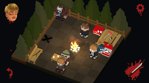 Kostenloses Android-Game Freitag der 13te: Killer Puzzle. Vollversion der Android-apk-App Hirschjäger: Die Friday the 13th: Killer puzzle für Tablets und Telefone.