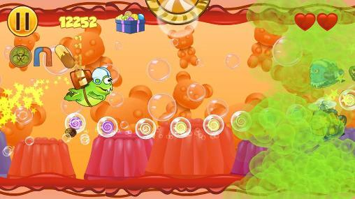 Screenshots of the Frog candys: Yum-yum for Android tablet, phone.