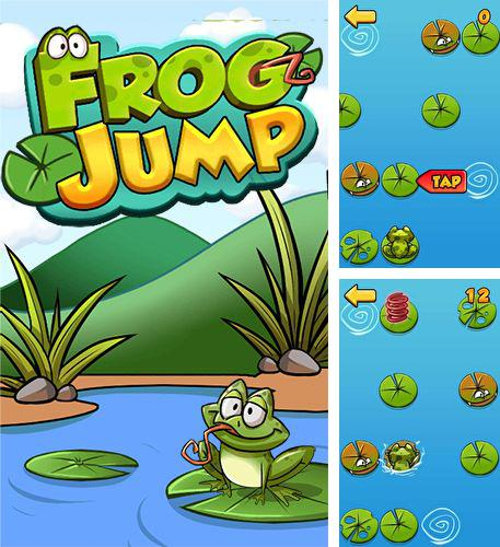 Don't tap the wrong leaf. Frog jump